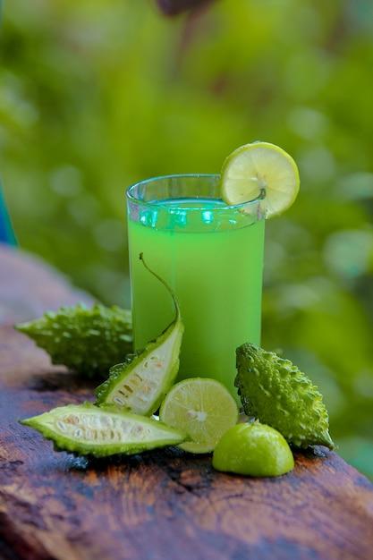 Melone verde amaro Foto Premium