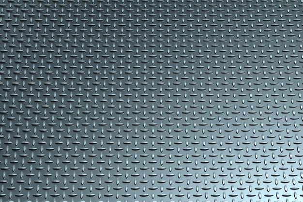 Metal la struttura con un modello dell'illustrazione dei rombi 3d, 3d rendono. Foto Premium