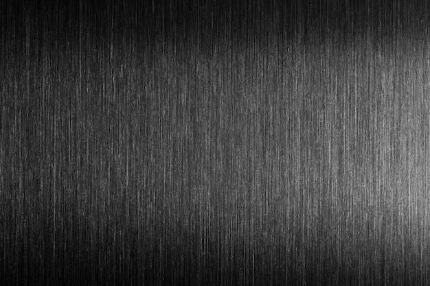 Metallo duro. metallo spazzolato con riflessione dura. Foto Premium