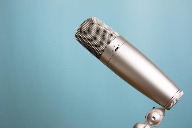 Microfono stile retrò Foto Premium
