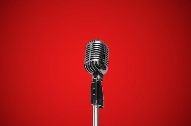 Microfono vintage Foto Premium