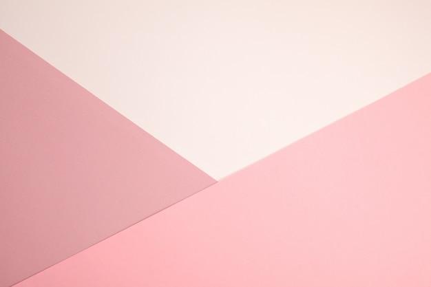 Minimalismo astratto di struttura della carta colorata Foto Premium