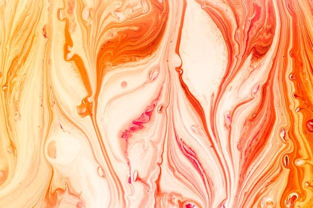 Miscela astratta delle onde in vernice Foto Gratuite