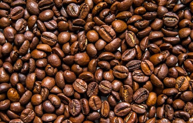 Miscela di diversi tipi di chicchi di caff sfondo del caff chicchi di caff tostati chicchi - Diversi tipi di caffe ...