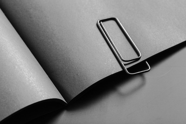 Mockup di libro bianco Foto Premium