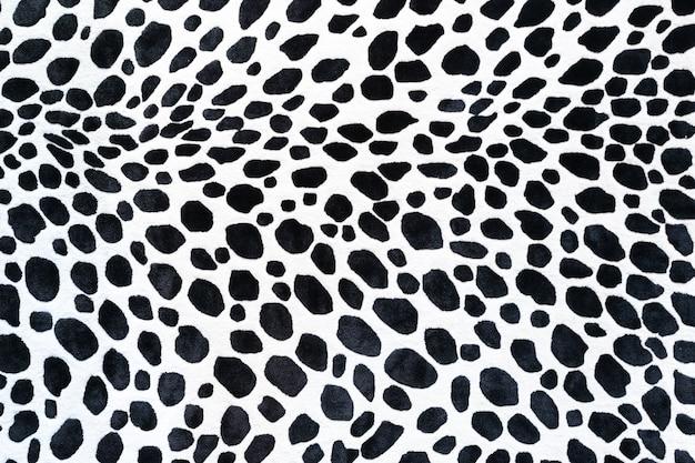 Modello animale senza cuciture per la progettazione tessile. modello senza cuciture di macchie dalmatian. trame naturali Foto Premium
