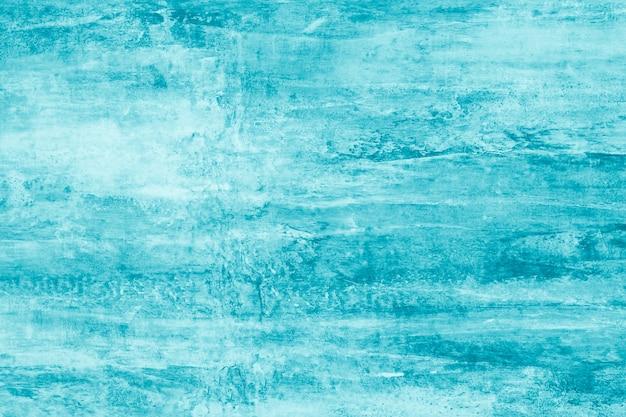 Modello astratto turchese con macchie di vernice. carta da pittura in stile moderno. Foto Premium
