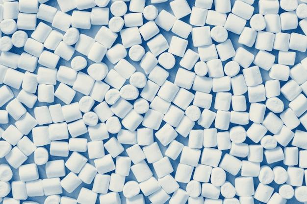 Modello classico marshmallow di colore blu Foto Premium