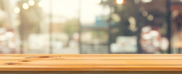 Modello defocused cibo vuoto in legno Foto Gratuite