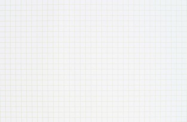 Modello di linea di carta bianca quaderno a righe bianco. carta a griglia per il processo di progettazione grafica del lavoro. Foto Premium