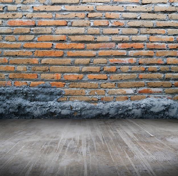 Modello di sfondo muro di mattoni concreti astratti Foto Premium