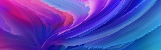 Modello di sfondo spruzzi di inchiostro astratto di colore Foto Premium