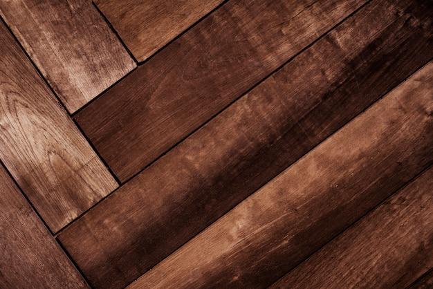 Modello geometrico in legno a spina di pesce Foto Gratuite