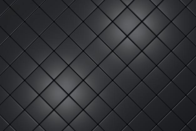 Moderna parete piastrellata. rendering 3d. Foto Premium