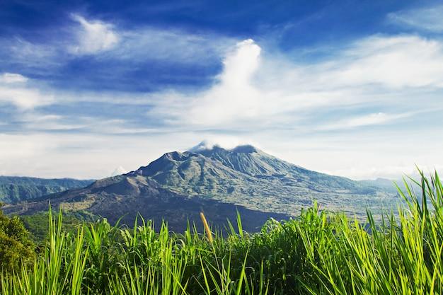 Monte batur Foto Premium