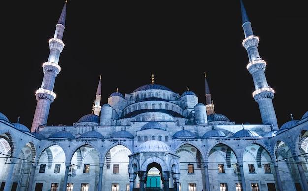 Moschea blu di istanbul Foto Premium