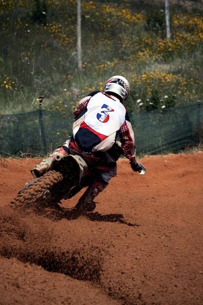 Motocross dirtbike Foto Premium