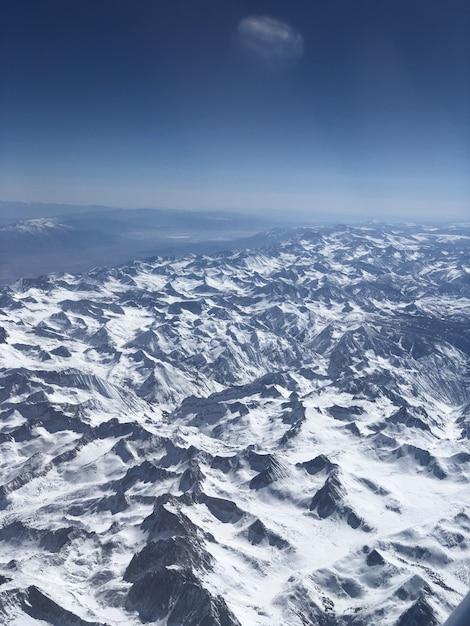 Mountain snow view Foto Gratuite