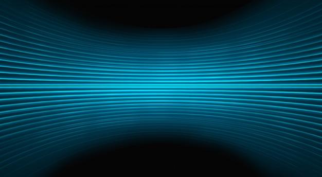 Movimento blu luce astratta Foto Premium