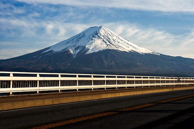 Mt. fuji a kawaguchiko fujiyoshida, giappone. Foto Premium