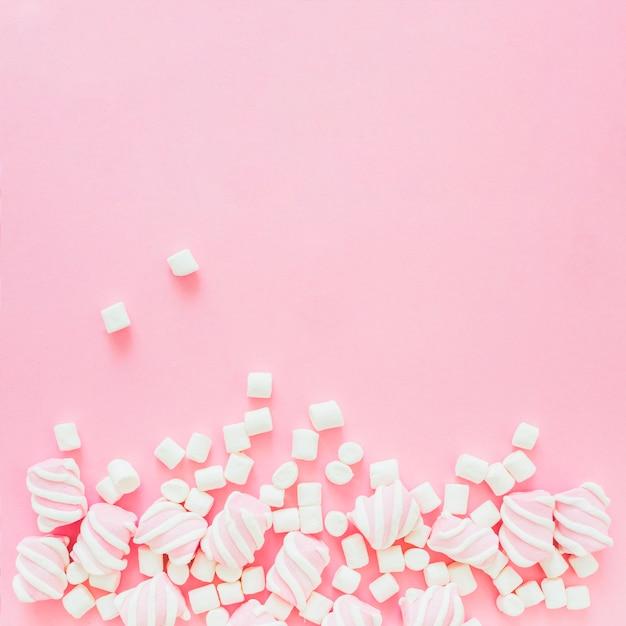 Mucchio di marshmallow Foto Gratuite