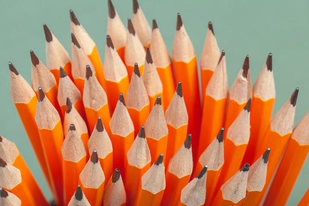 Mucchio di matite Foto Premium