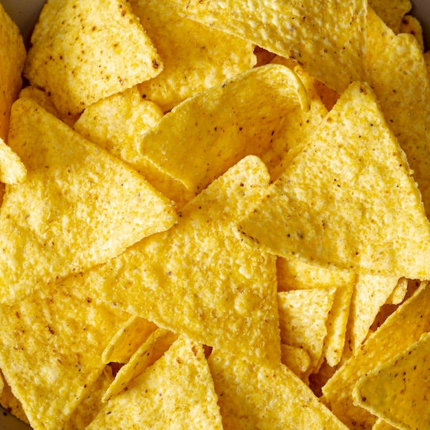 Mucchio di nachos salati Foto Gratuite