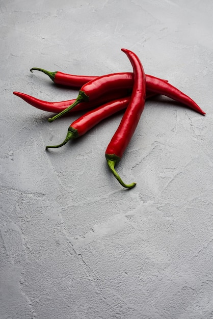 Mucchio di peperoncino piccante Foto Gratuite