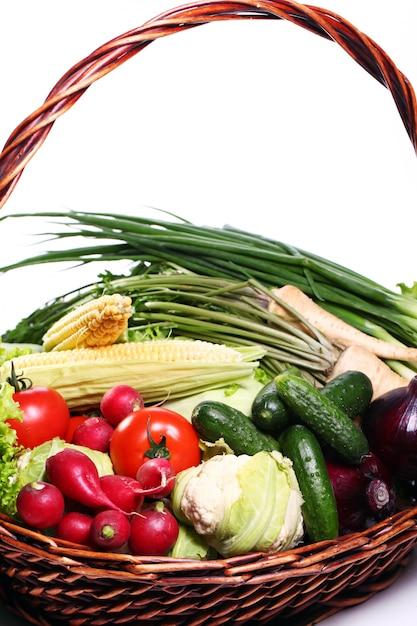 Mucchio di verdure fresche Foto Gratuite