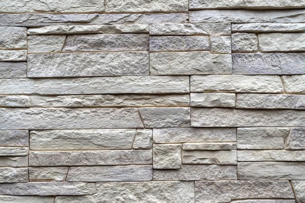 Muratura in pietra decorativa Foto Premium