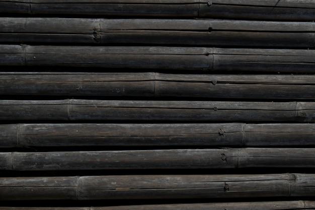 Muro di bambù secco Foto Premium