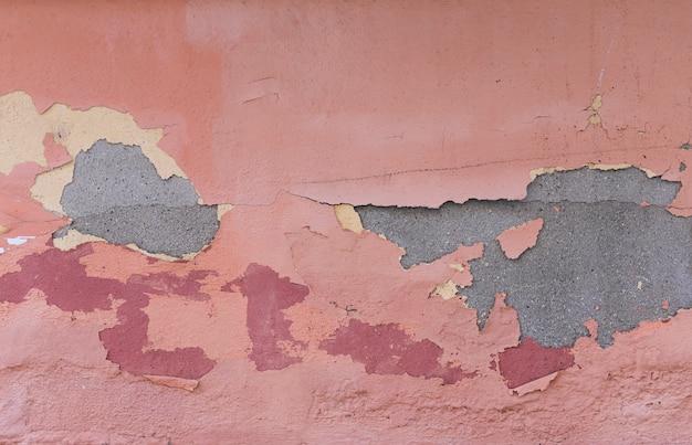 Muro di cemento con vernice e peeling Foto Gratuite