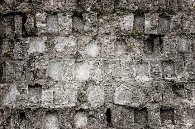 Muro di mattoni bianchi, perfetto come sfondo. Foto Premium
