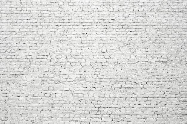 Muro di mattoni bianchi, vecchia struttura di superficie dei blocchi di pietra Foto Premium