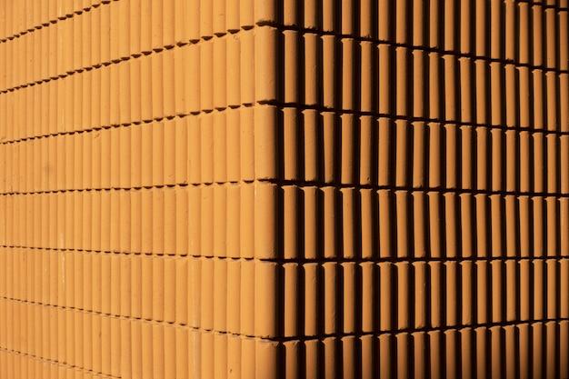 Muro di mattoni marroni Foto Premium