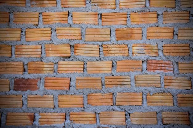 Muro Di Mattoni Rossi Mattone Rosso Per Costruire Un Muro Per