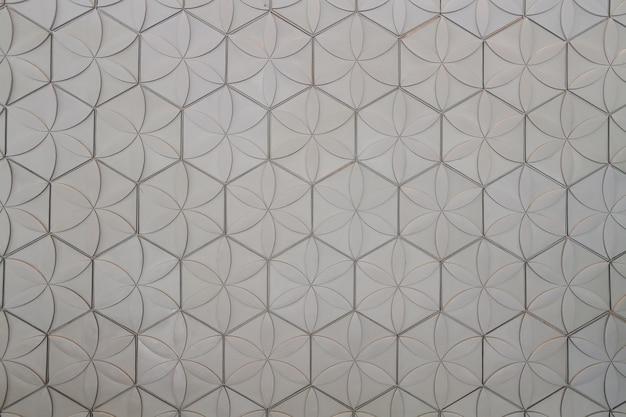 Muro di piastrelle grigie scaricare foto premium