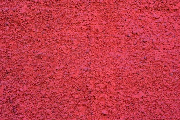 Muro dipinto di cemento, colore rosa vivido Foto Premium