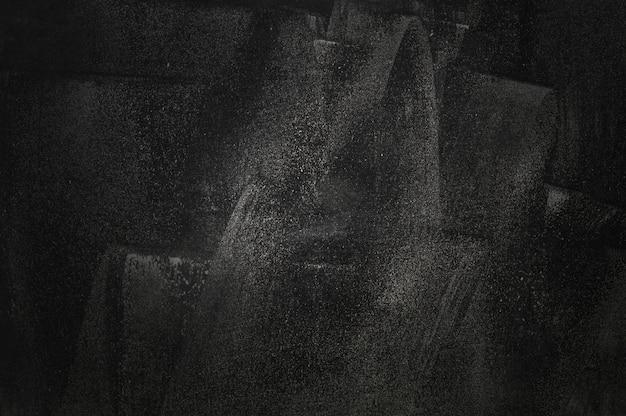Muro nero di lavagna e sfondo showroom per il prodotto di presentazione Foto Premium