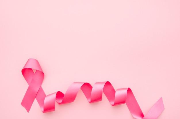 Nastro rosa per la consapevolezza del cancro al seno Foto Gratuite