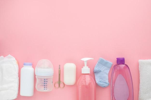 Necessità di unisex neonato per l'igiene dei bambini Foto Premium