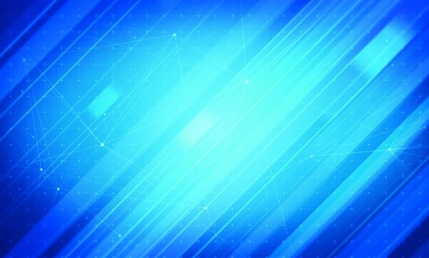 Notizie corporative blu del fondo. concetto astratto di affari Foto Premium