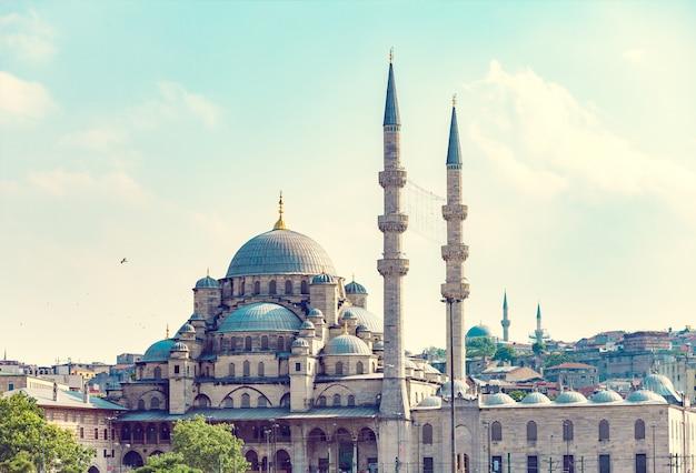 Nuova moschea di istanbul Foto Premium