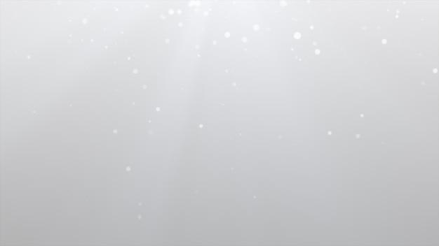 Nuovo anno 2020. sfondo bokeh. luci astratte. sfondo di buon natale. luce glitterata particelle sfocati. particella bianca multipla Foto Premium
