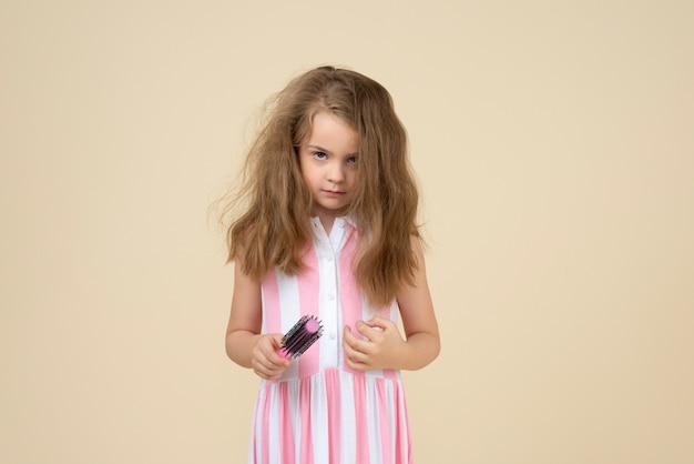 Odio assolutamente lavarmi i capelli Foto Premium