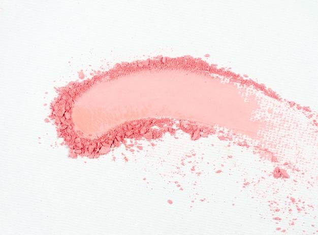 Ombretto o macchia rosa bronzata Foto Premium