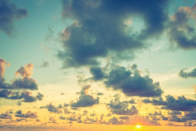 Ora del tramonto Foto Gratuite