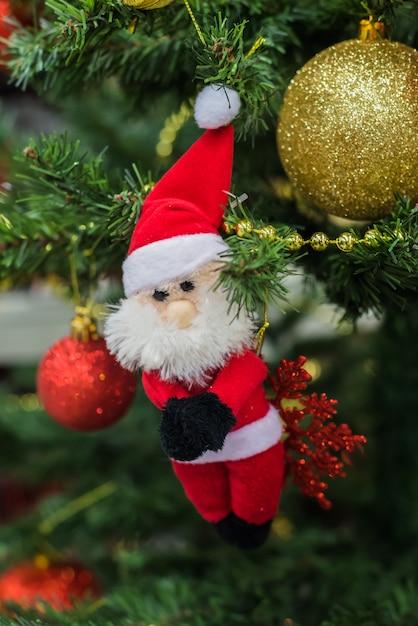 Ornamenti per natale Foto Premium