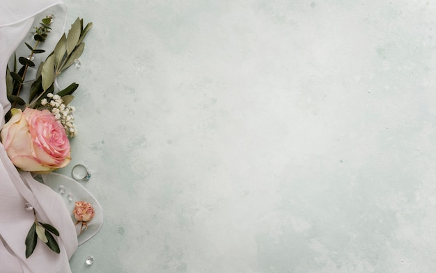 Ornamento floreale per matrimonio Foto Gratuite
