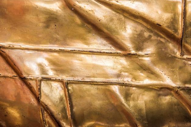 Oro con texture di sfondo Foto Gratuite